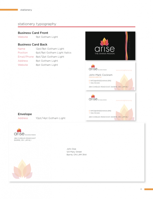 Arise Logo Business Package
