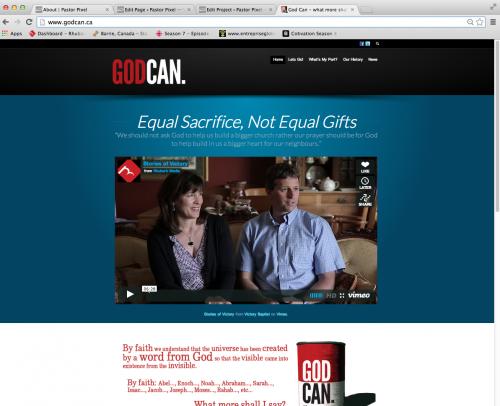 God Can Website