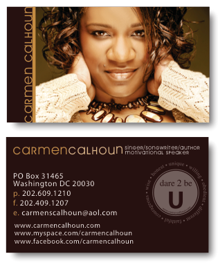 Carmen Calhoun Business Cards