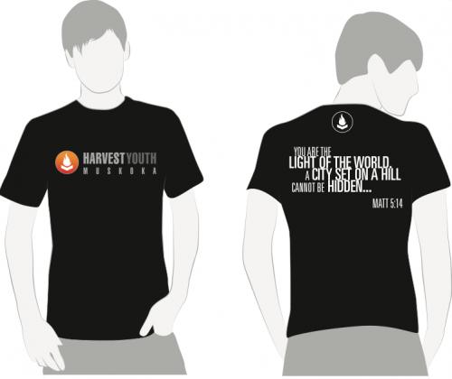 Harvest Youth T-shirt Design